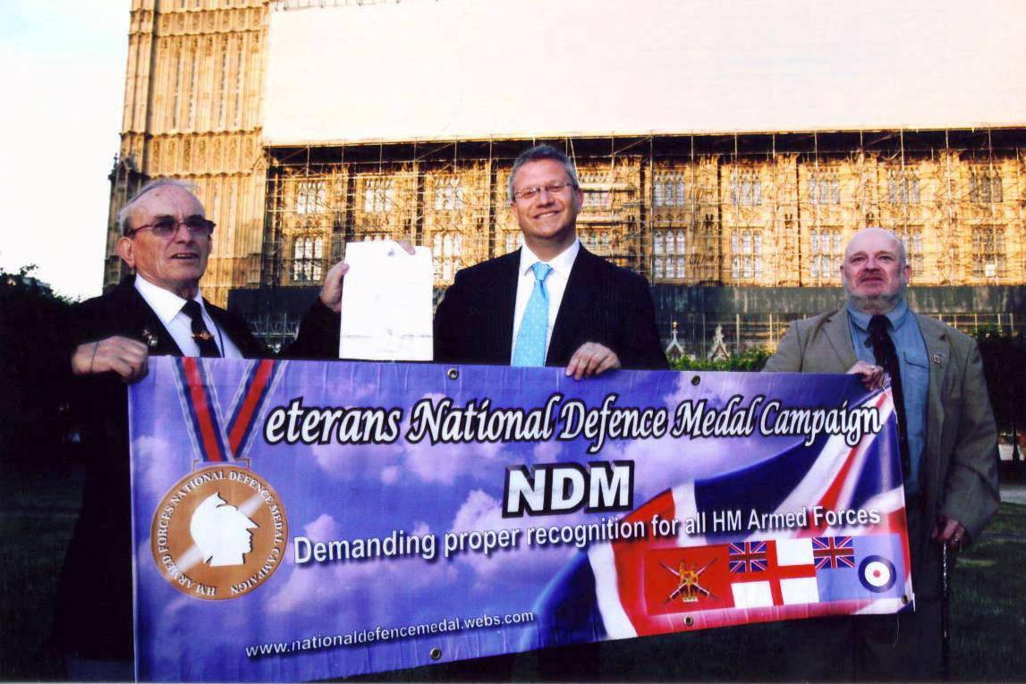 Andrew Rosindell MP Supports NDM